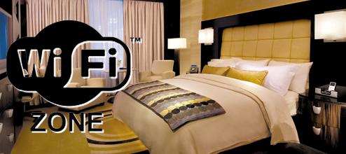 wifi habitación de hotel