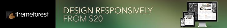 banner themeforest responsive web design