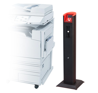 impresora y modulo prinspot pmd box